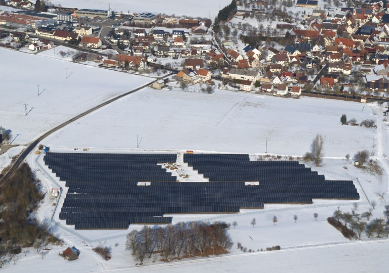 Solarpark Berghülen